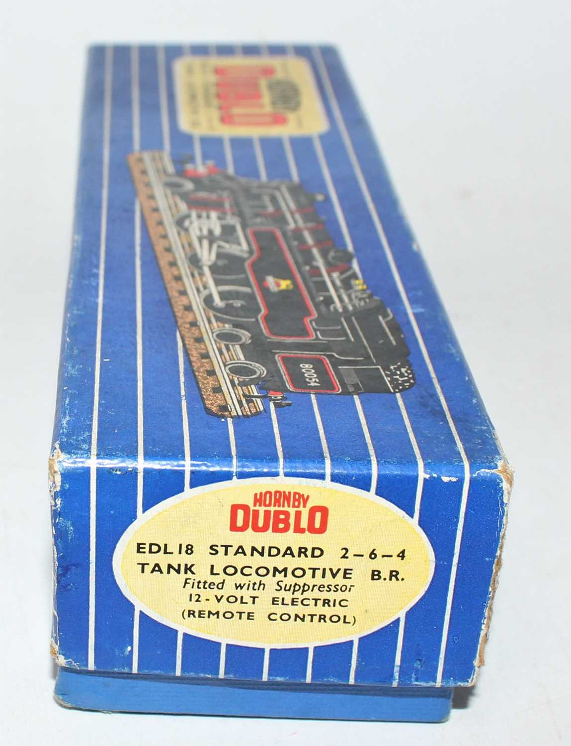 Hornby Dublo EDL18 3-Rail 2-6-4 tank loco BR 80054, no marks but will benefit from cleaning, - Image 2 of 2