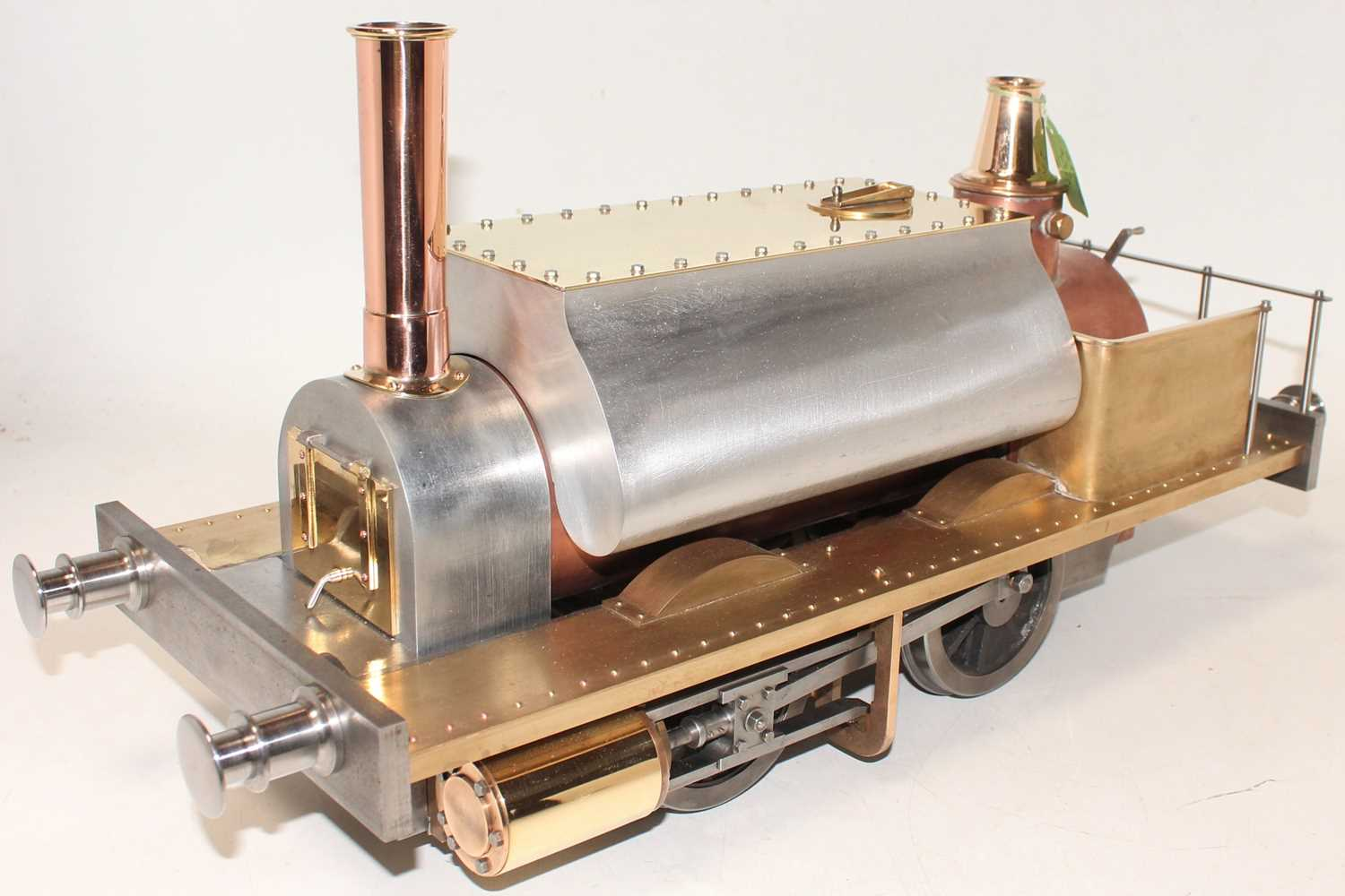 A very well engineered Reeves Castings 5 inch gauge model of a Gemma 0-4-0 Tank Locomotive, built to