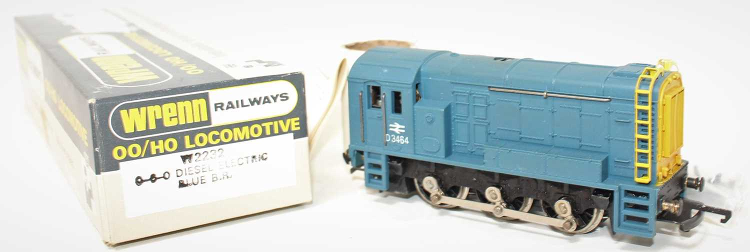 A Wrenn Railways No. W223 BR Blue 0-6-0 diesel shunter, powered example, housed in the original card - Image 2 of 2