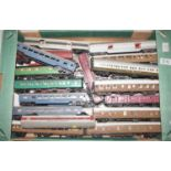 33 various 00 gauge and H0 scale factory built, hand built, and later adapted coaches to include