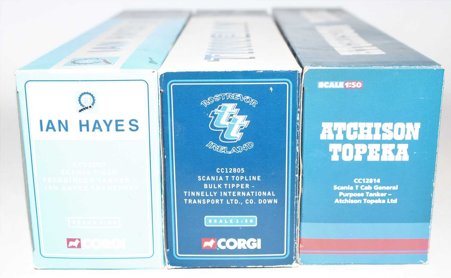 Three various boxed Corgi Hauliers of Renown 1/50 scale road transport diecasts, all housed in - Image 2 of 2