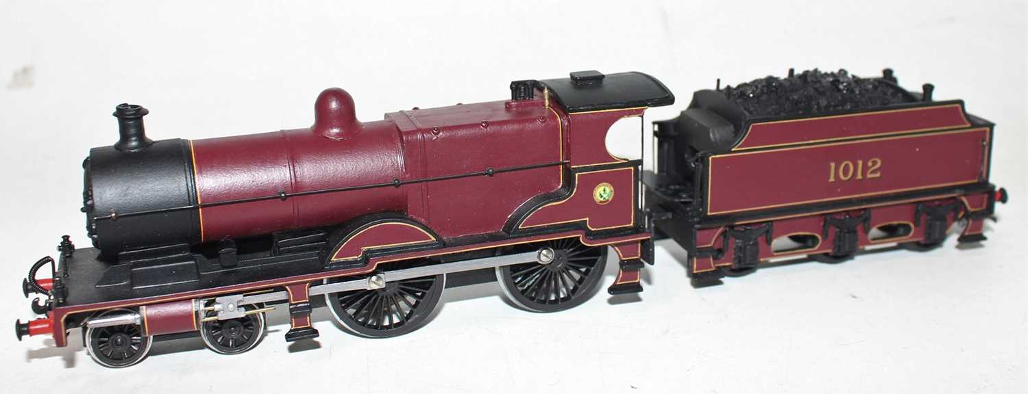 A very well constructed and finished 00 gauge white metal and brass model of a Johnson Midland