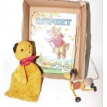 A group of 3 items to include the following A Rupert the bear Daily Express annual of 1961 has