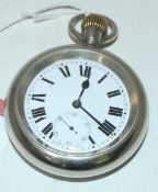 """Great Western Railway POCKET WATCH engraved on the back cover """"GWR 897"""""""
