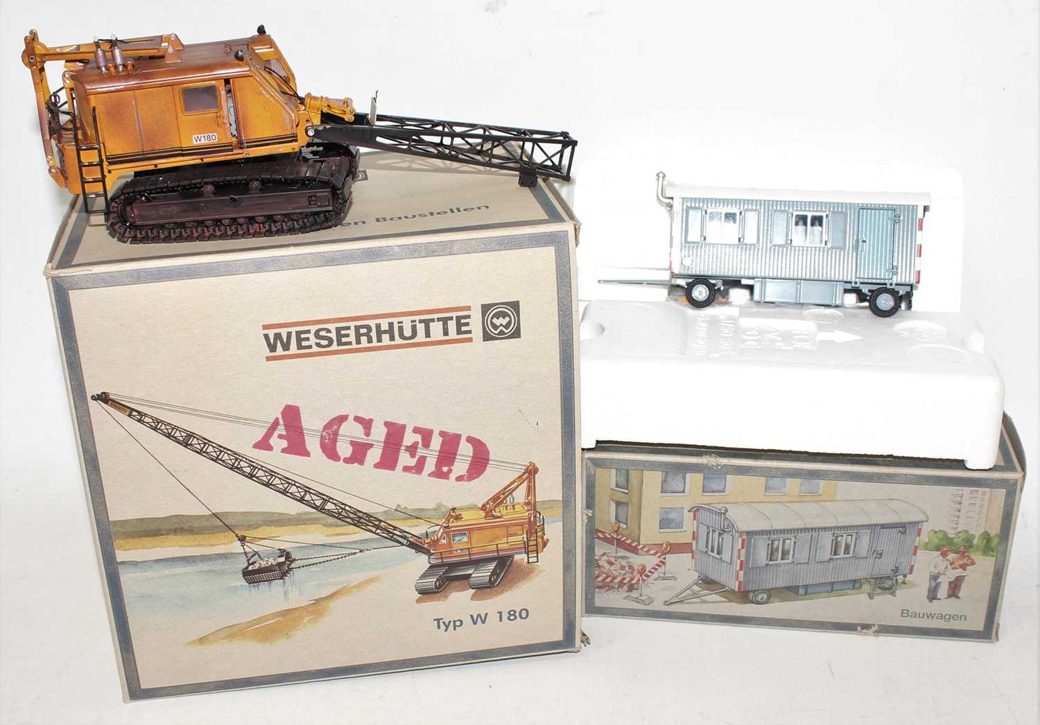 An NZG boxed construction vehicle and accessory diecast group to include an NZG No. 500/01 a - Image 2 of 2