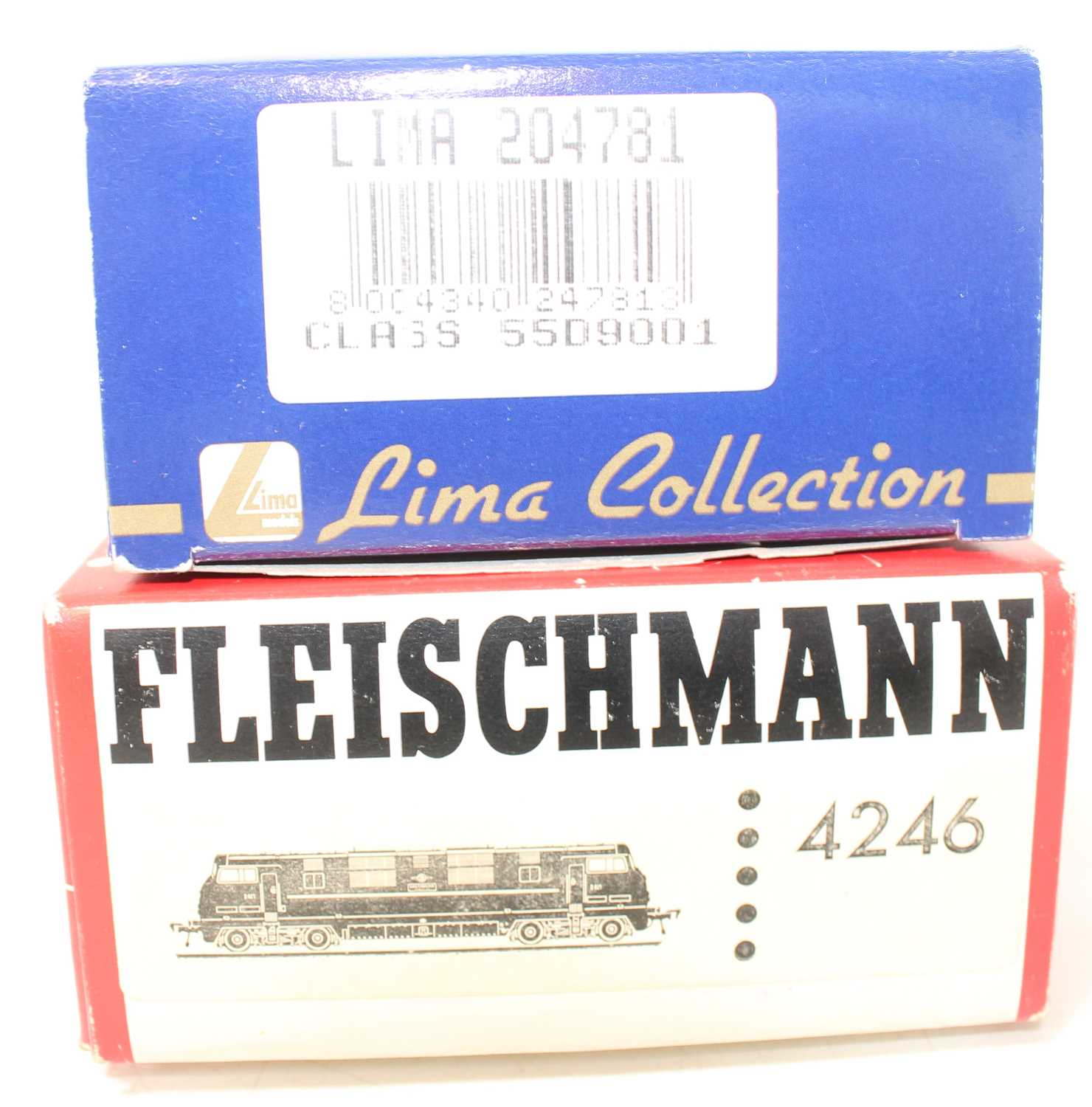 A Lima 00 gauge and a Fleischmann H0 scale diesel locomotive group, to include a Lima limited - Image 2 of 2