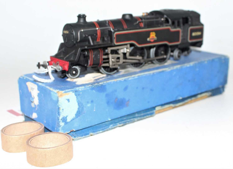 Hornby Dublo EDL18 2-6-4 Standard 4 Tank Locomotive, BR 80054, nearside rear buffer broken and