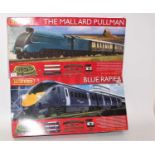 A Hornby Railways 00 gauge boxed train set group to include No. R1202 The Mallard Pullman No.