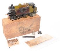 Bowman Models of Dereham LNER No.300 0-4-0 live steam tank locomotive, well used but appears