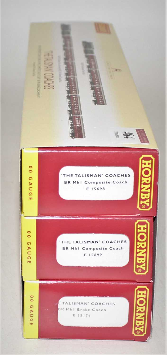 A Hornby Railways No. R4252, The Talisman coach pack comprising of three coaches housed in the - Image 2 of 2