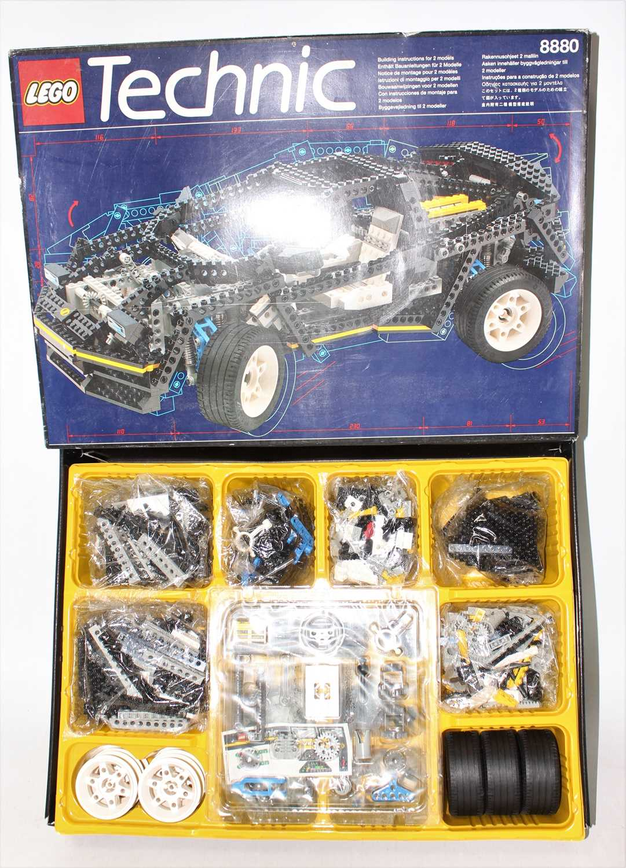 Lego Technic No.8880 Super Car, rare example appears complete and un-made in the original box,