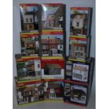 Hornby 'Skaledale' collection of 10x 00 scale small shops to include R9714 empty shop for sale,