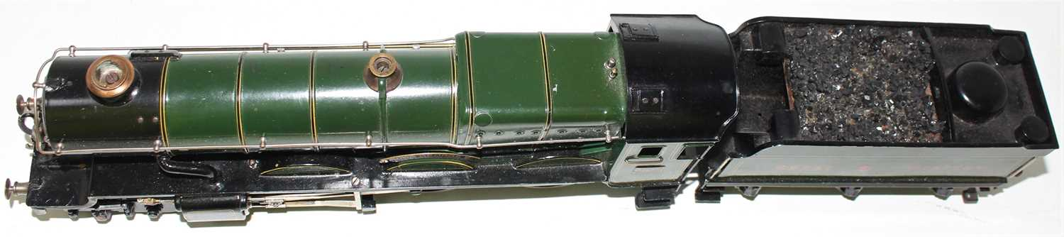 """Marklin for Bassett-Lowke O Gauge 4-6-0 Loco and Tender Great Western green """"King George V"""" No.6000, - Image 15 of 15"""