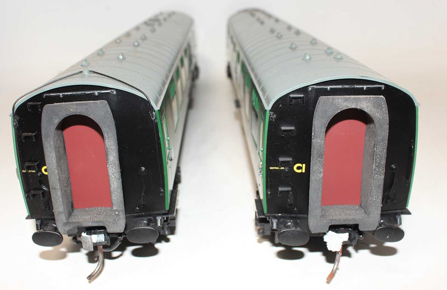 Gauge 1 Model Company coach group, 2 examples both Southern region to include S24547 and S34290, - Image 4 of 4