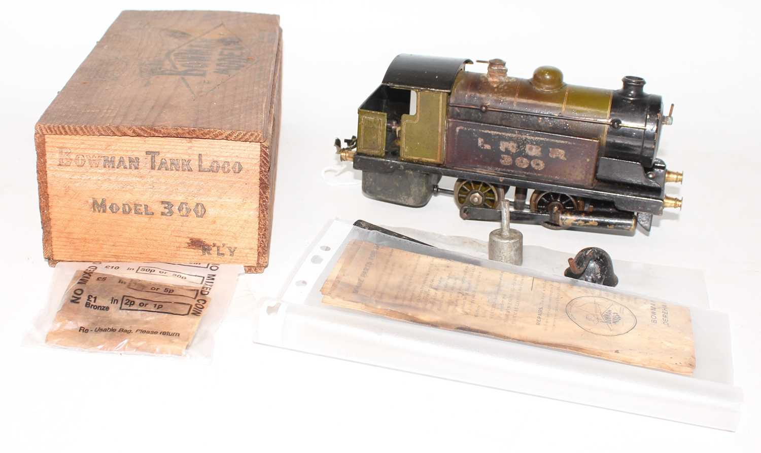 Bowman Models of Dereham LNER No.300 0-4-0 live steam tank locomotive, well used but appears - Image 2 of 4