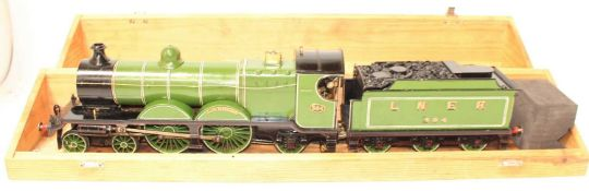 A very well engineered Gauge 1 Live Steam Spirit Fired model of a Robison C4 Great Central Railway