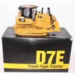 A Classic Construction Models (CCM) 1/24 scale precision diecast model of a Caterpillar D7E track