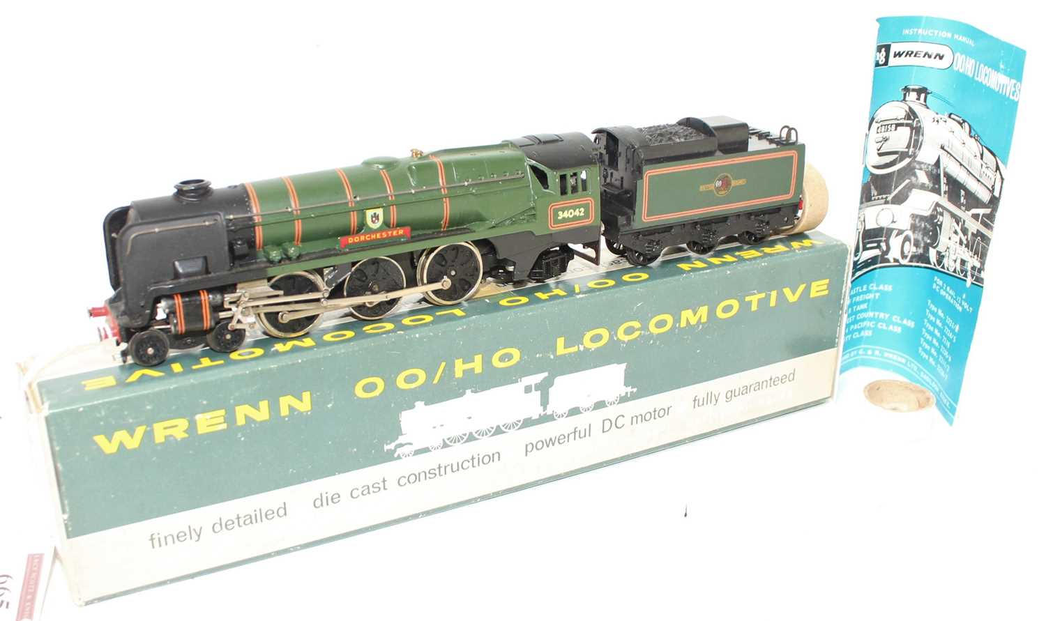 A Wrenn Railways No. W2236 re-built West Country Class engine and tender, Dorchester, finished in BR