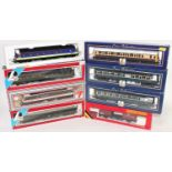 Eight various boxed Lima and Hornby 00 gauge items of rolling stock and locomotives, to include a