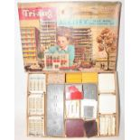 A Triang Spot-On Arkitex Set No. 1 construction kit, housed in the original card box with division