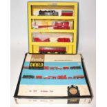 Hornby Dublo 2049 Breakdown Train Set, comprising EDL17 0-6-2 tank loco, BR 69550 for 2-rail use (