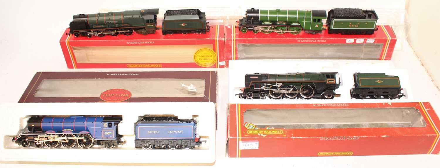 Four various boxed Hornby 00 gauge locomotives, all housed in original packaging, some packaging has - Image 2 of 2