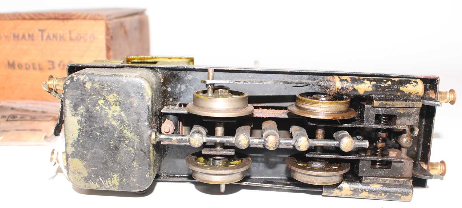 Bowman Models of Dereham LNER No.300 0-4-0 live steam tank locomotive, well used but appears - Image 3 of 4