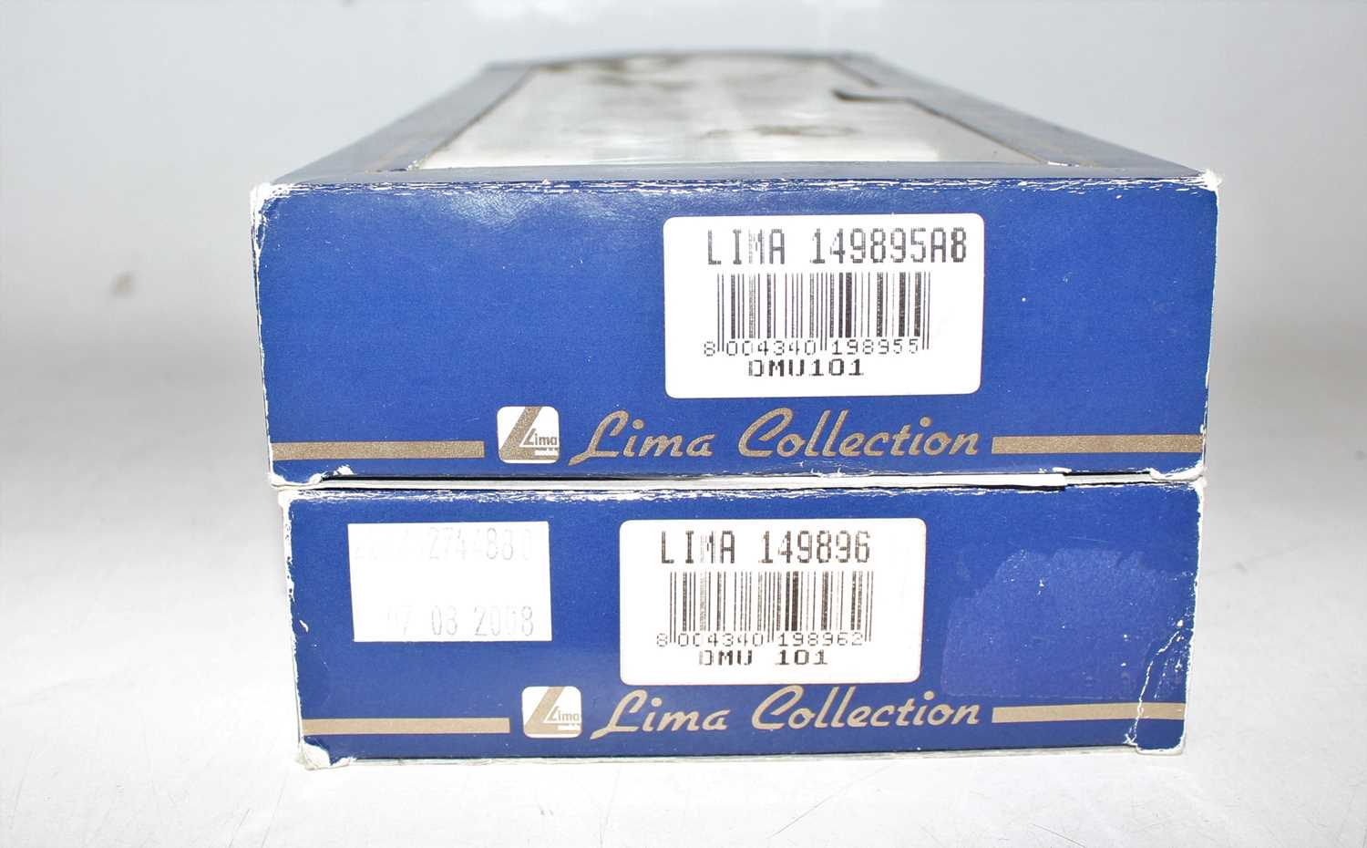 A Lima collection 00 gauge DMU 101 boxed group, two examples to include a Network South East DMU - Image 2 of 2