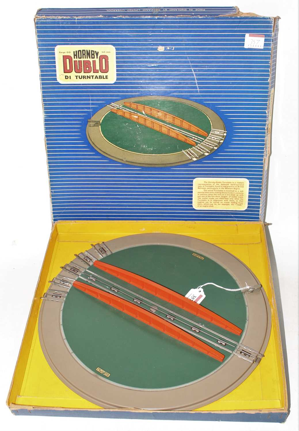 Hornby Dublo D1 Turntable, very clean (VG-BF)