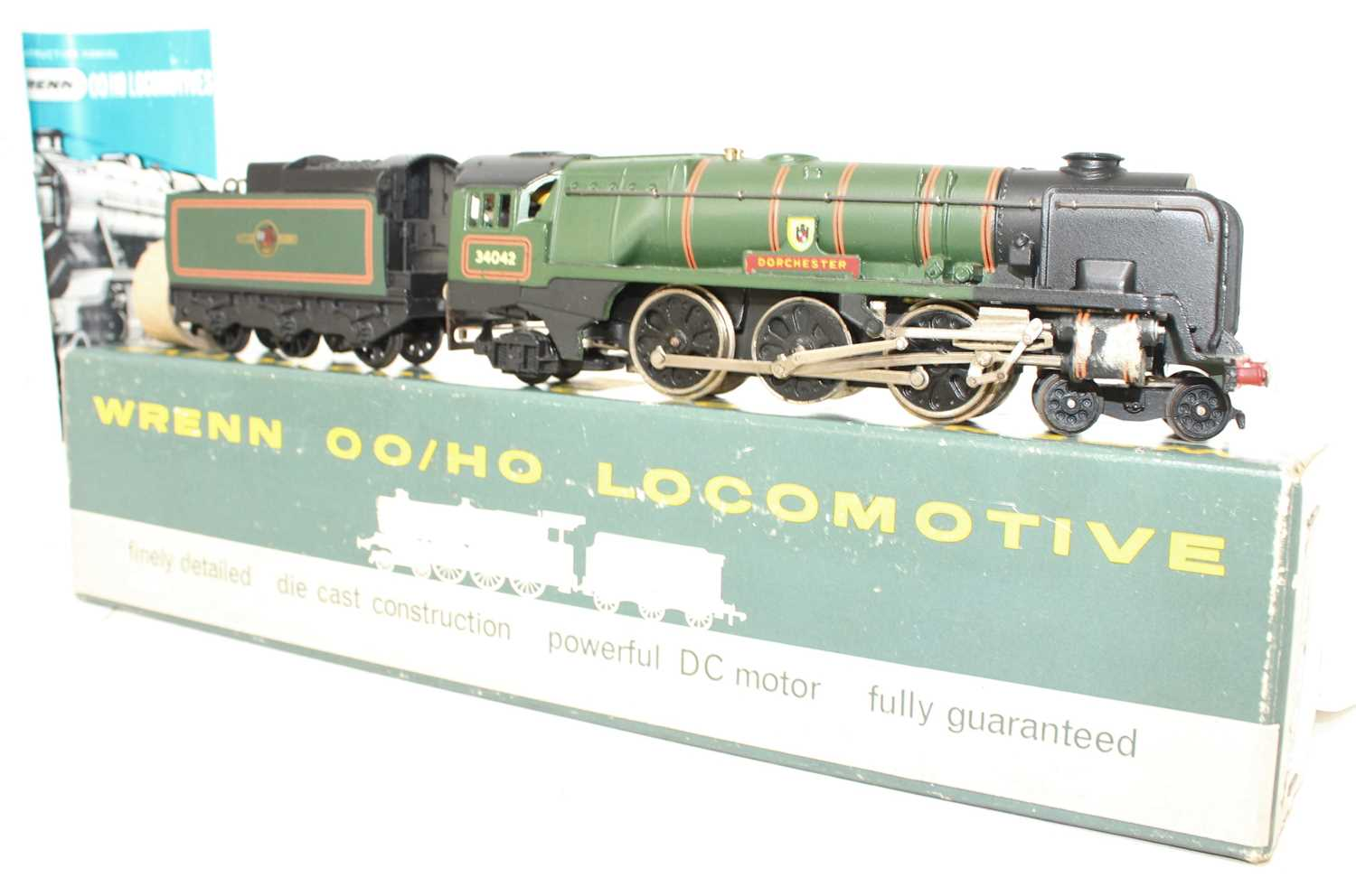 A Wrenn Railways No. W2236 re-built West Country Class engine and tender, Dorchester, finished in BR - Image 2 of 2