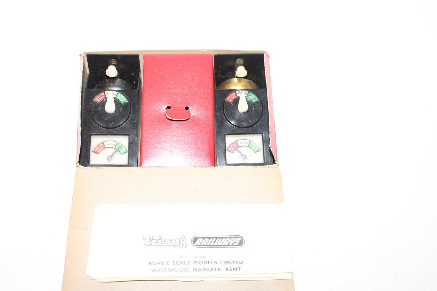 Triang R268 Bell Signal Set, appears unused, a very rare item (NM-M, BE) - Image 2 of 2