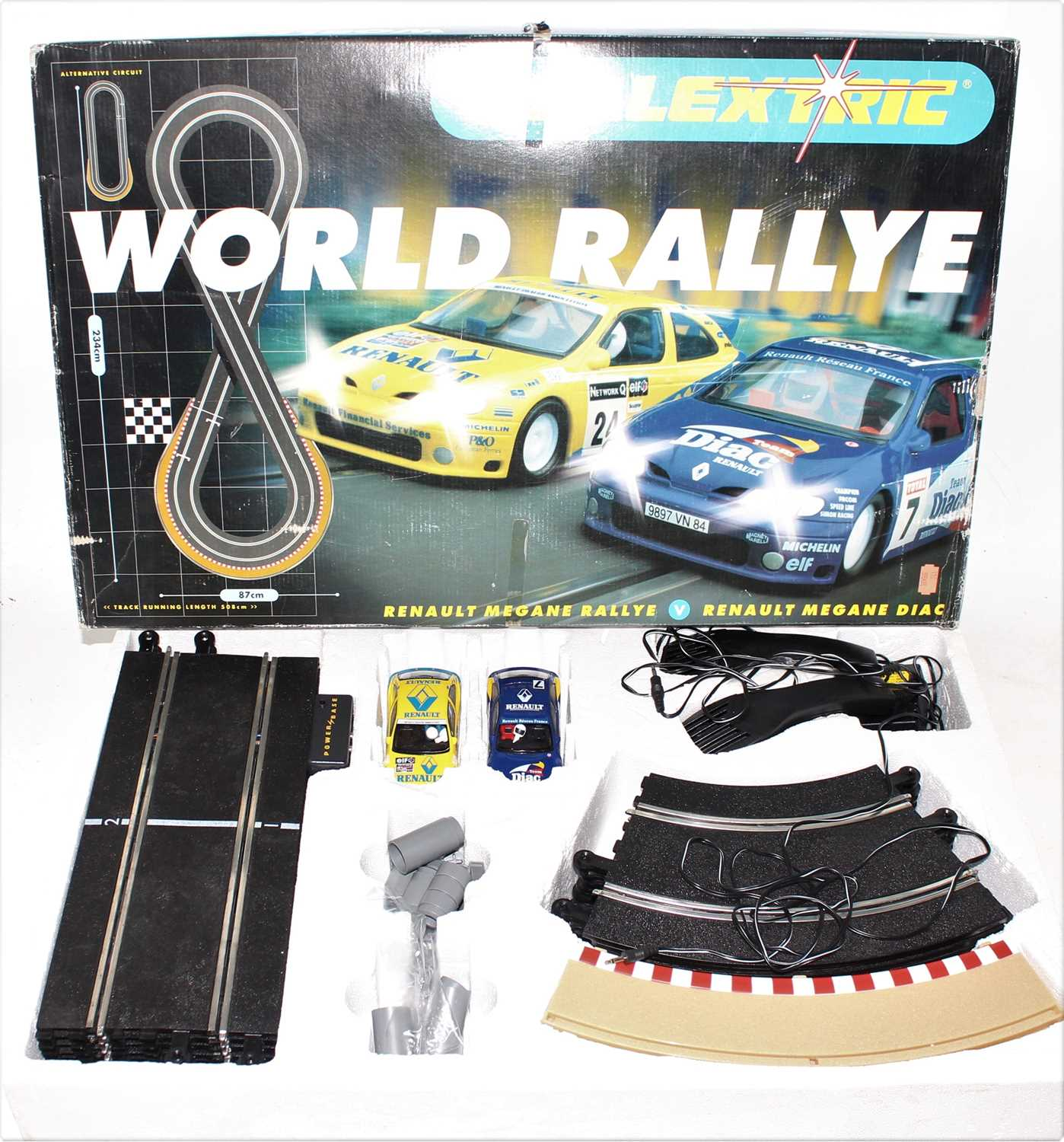 Three various boxed Carerra and Scalextric boxed slot car racing gift sets to include a Carerra - Image 2 of 4