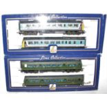 A Lima collection 00 gauge DMU 101 boxed group, two examples to include a Network South East DMU