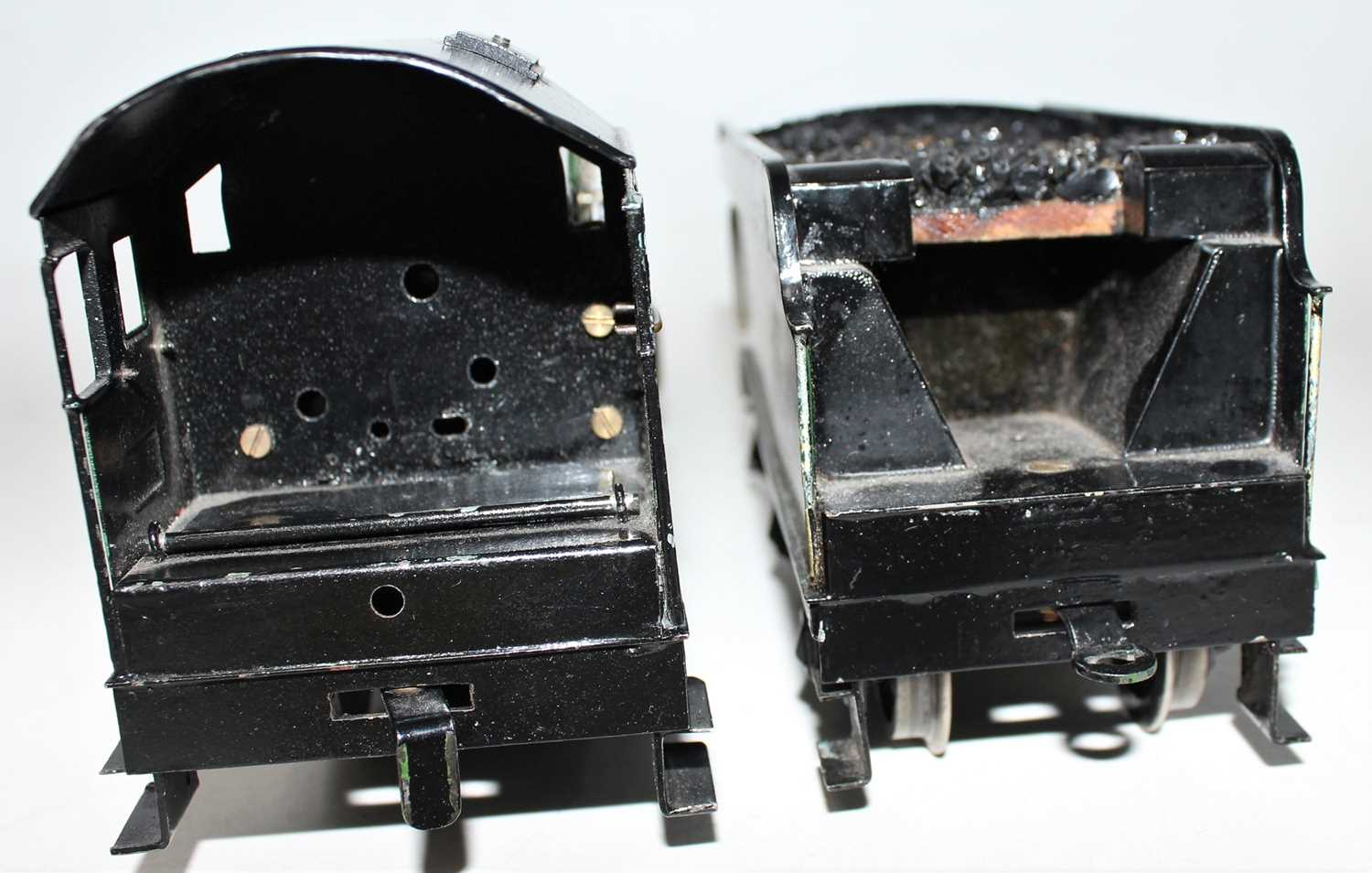 """Marklin for Bassett-Lowke O Gauge 4-6-0 Loco and Tender Great Western green """"King George V"""" No.6000, - Image 7 of 15"""