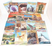 17 issues of Meccano Magazine, various dates to include Sept 1925 - October 1940Condition report: