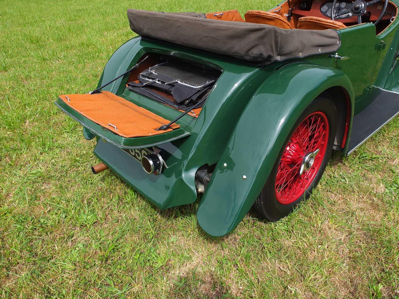 1934 Alvis Firefly Tourer Registration No: AFY 850, Chassis No: 11092, Odometer 20143, Cross & Ellis - Image 12 of 28