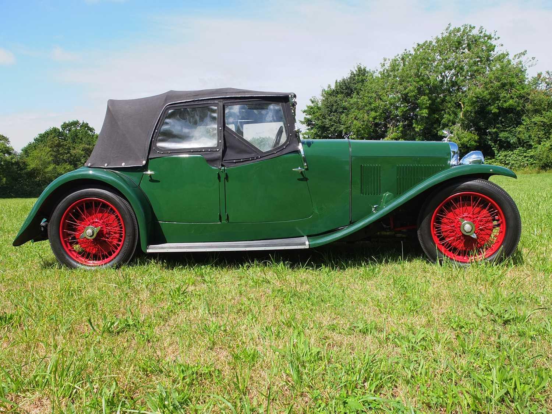 1934 Alvis Firefly Tourer Registration No: AFY 850, Chassis No: 11092, Odometer 20143, Cross & Ellis - Image 13 of 28
