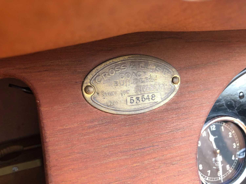 1934 Alvis Firefly Tourer Registration No: AFY 850, Chassis No: 11092, Odometer 20143, Cross & Ellis - Image 7 of 28