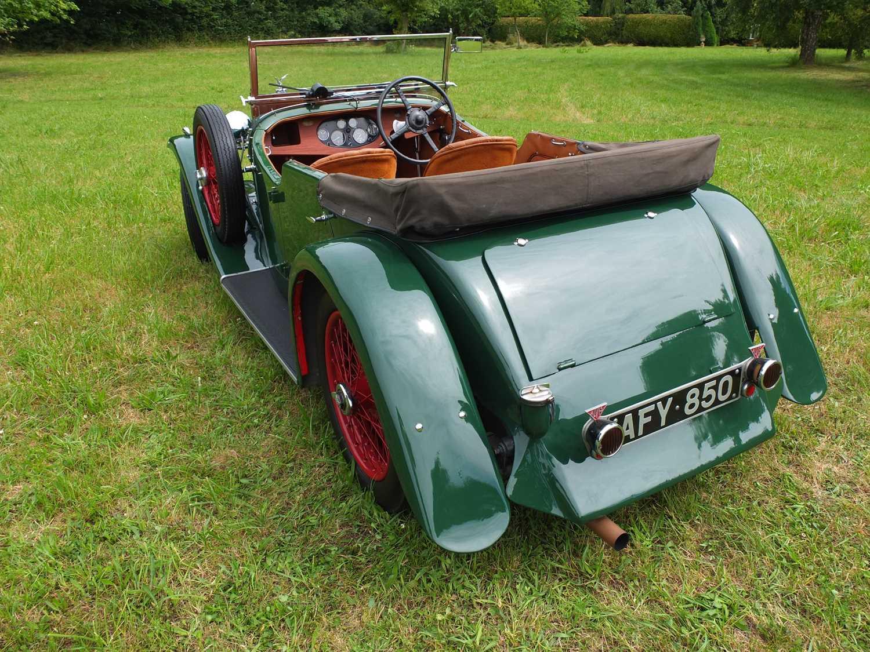 1934 Alvis Firefly Tourer Registration No: AFY 850, Chassis No: 11092, Odometer 20143, Cross & Ellis - Image 20 of 28