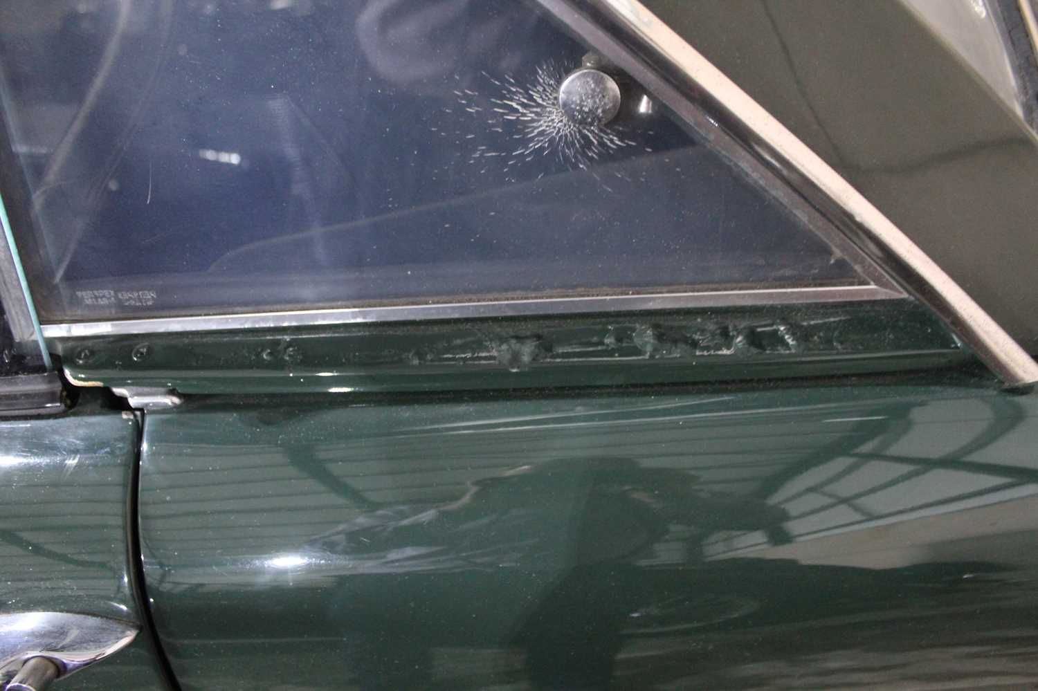 A 1968 Sunbeam Alpine Series V GT Reg No. NLY978F Chassis No. B395016307GTOD Green with Black - Image 32 of 43