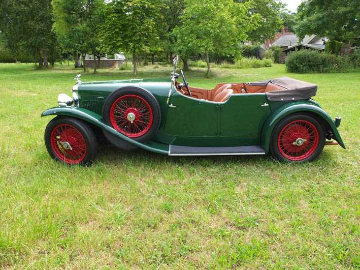 1934 Alvis Firefly Tourer Registration No: AFY 850, Chassis No: 11092, Odometer 20143, Cross & Ellis - Image 18 of 28