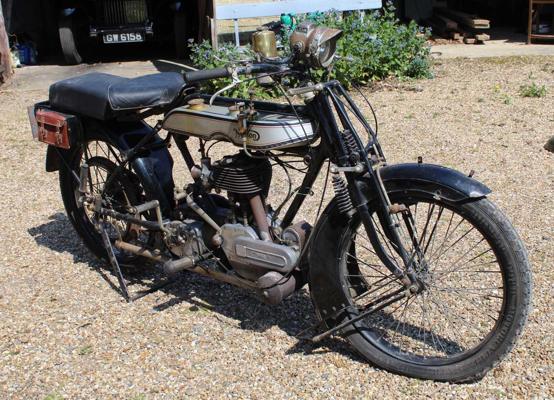 A 1921 Norton Model 1 Big Four 6, engine No. BA2667, frame number 4674, single cylinder side valve - Image 2 of 20