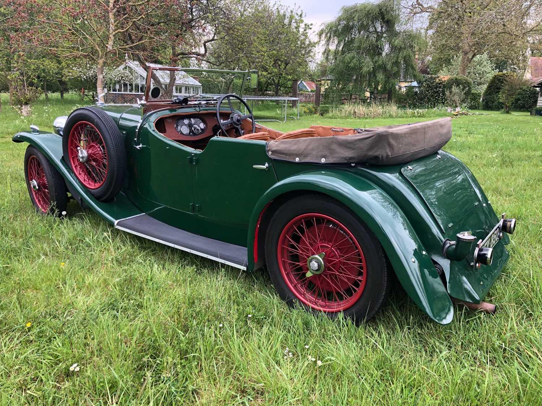 1934 Alvis Firefly Tourer Registration No: AFY 850, Chassis No: 11092, Odometer 20143, Cross & Ellis - Image 8 of 28
