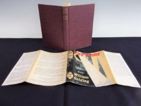 GOLDING, William. The Spire. Faber & Faber, London. 1964 1st ed. In original publisher's cloth