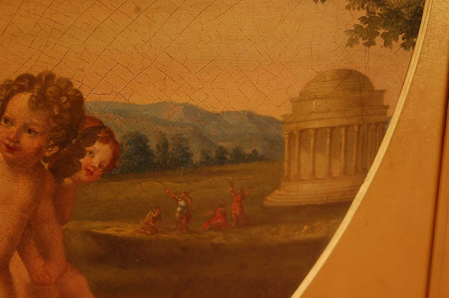 Guandallini Cententa (Italian 19th century) - Rape of Proserpine, oil on canvas, signed and dated - Image 5 of 9