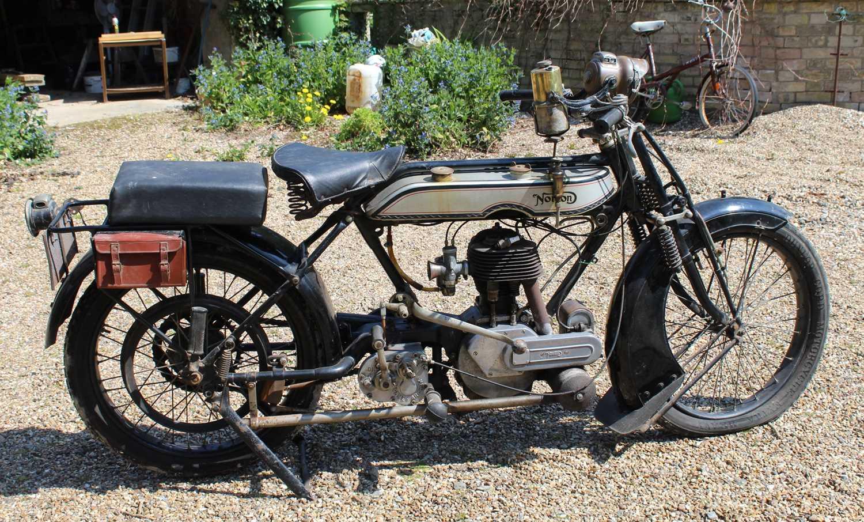 A 1921 Norton Model 1 Big Four 6, engine No. BA2667, frame number 4674, single cylinder side valve