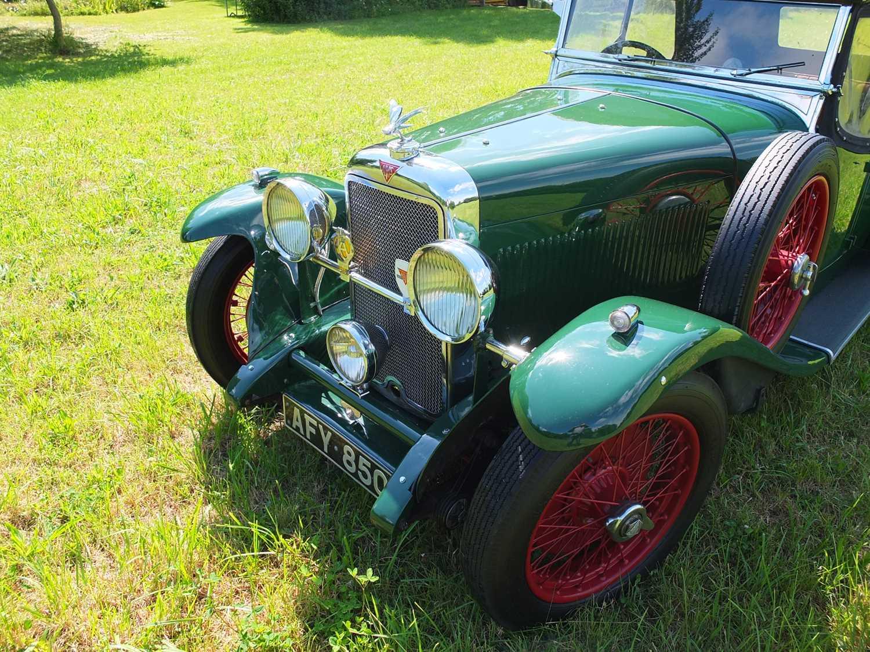 1934 Alvis Firefly Tourer Registration No: AFY 850, Chassis No: 11092, Odometer 20143, Cross & Ellis - Image 11 of 28