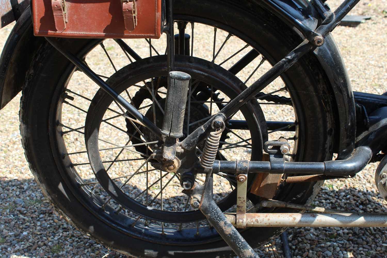 A 1921 Norton Model 1 Big Four 6, engine No. BA2667, frame number 4674, single cylinder side valve - Image 11 of 20