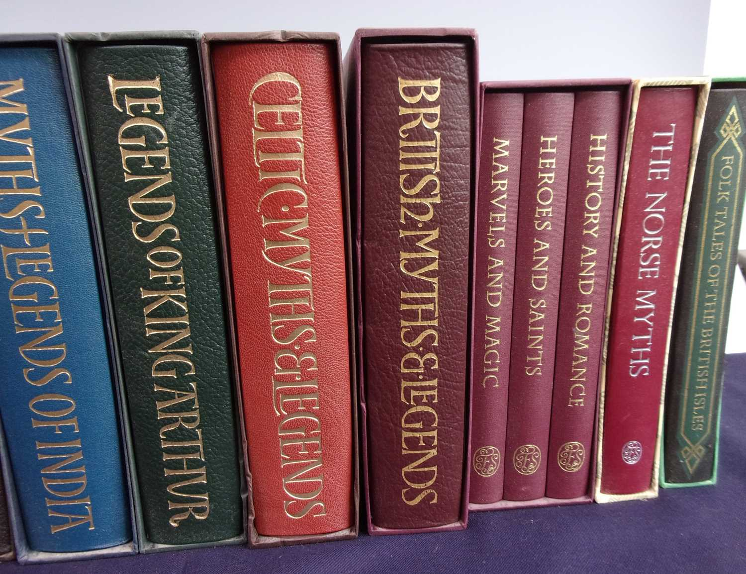 A Collection of Folio Society Myths and Legends to include Icelandic Sagas (2 vols), Greek Myths, - Image 3 of 3