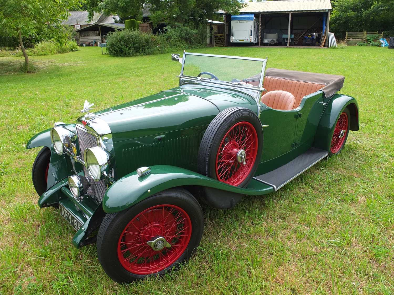 1934 Alvis Firefly Tourer Registration No: AFY 850, Chassis No: 11092, Odometer 20143, Cross & Ellis - Image 17 of 28
